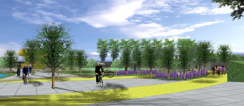 finalist  interactive park color of indonesia design