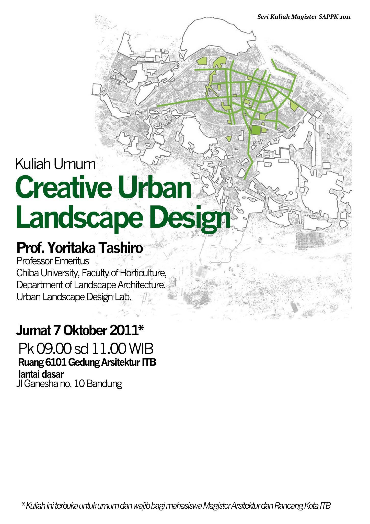 Creative Landscape Design Urban Home Design